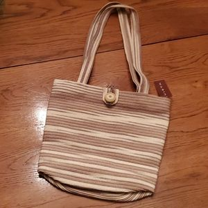 Vieta bag, shades of cream/tan/brown